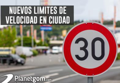 Nuevos límites de velocidad en ciudad.